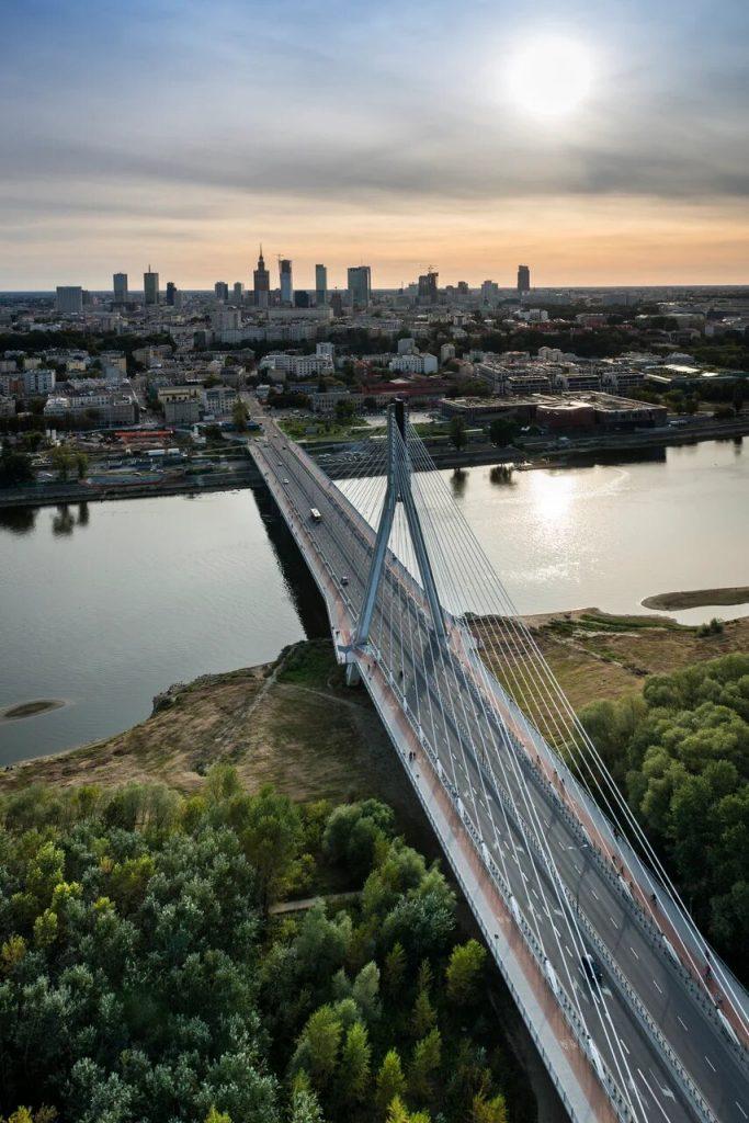 Мост с видом на Варшаву