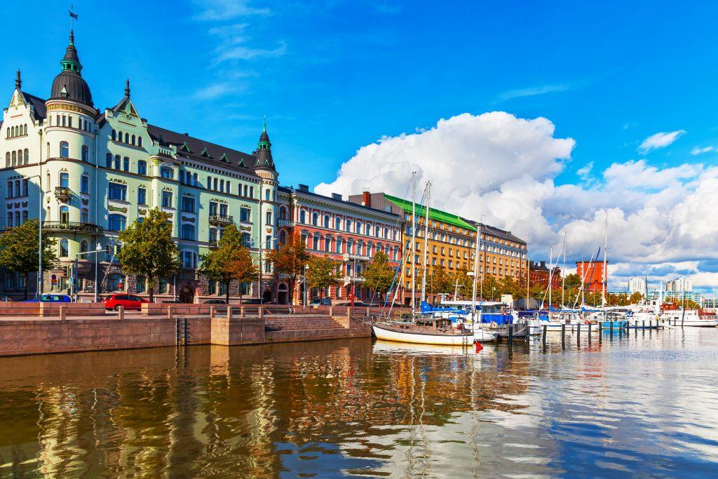 старый горд Хельсинки