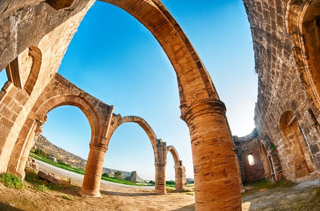 Руины на Кипре