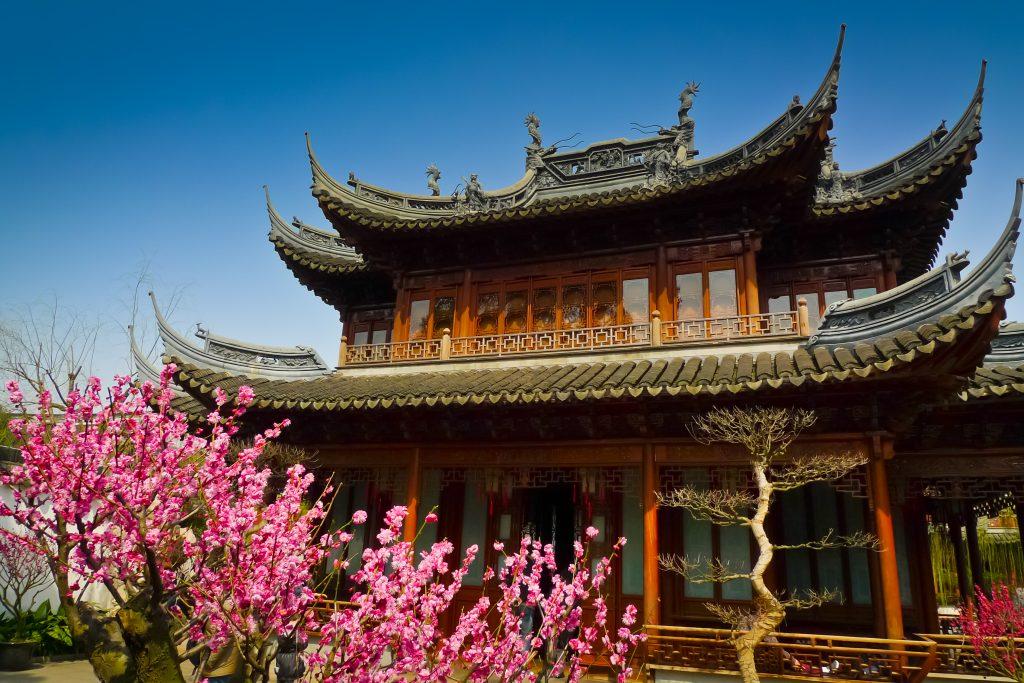 Сады в Китае