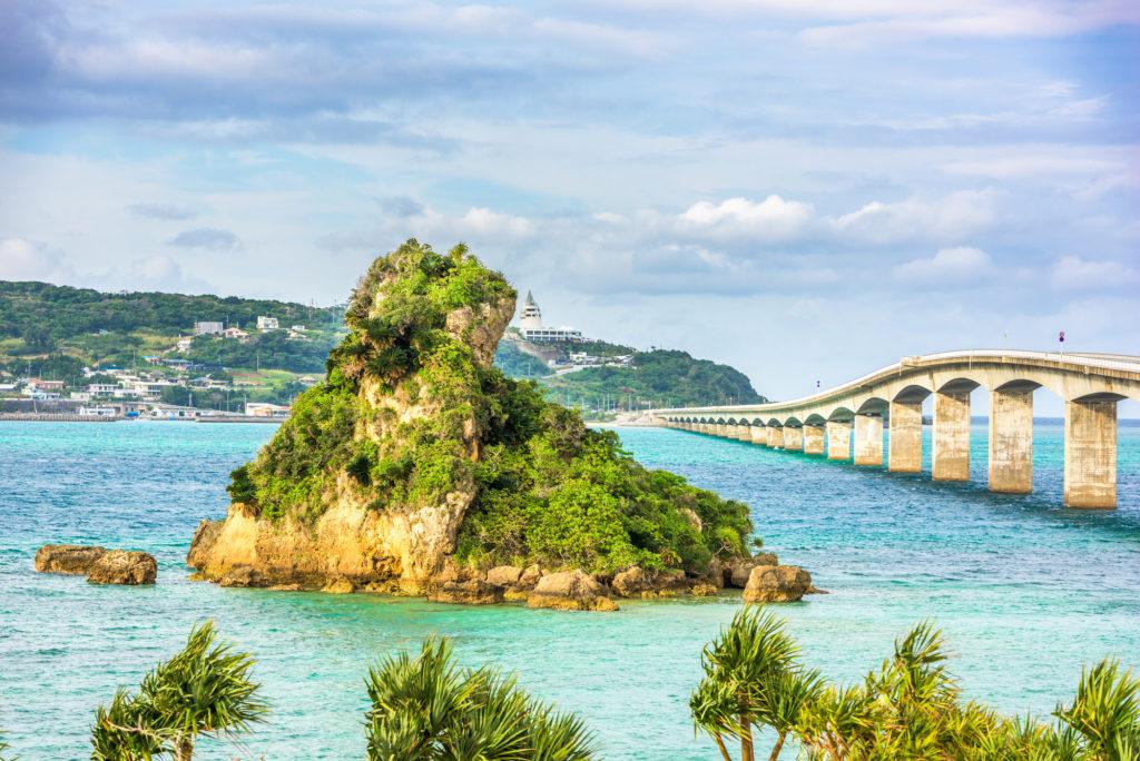 Мост Коури, Окинава
