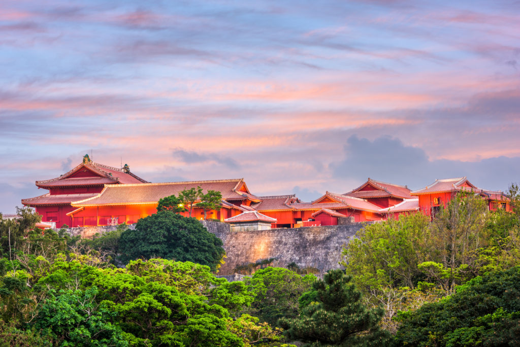 Замок Сюри в Окинаве