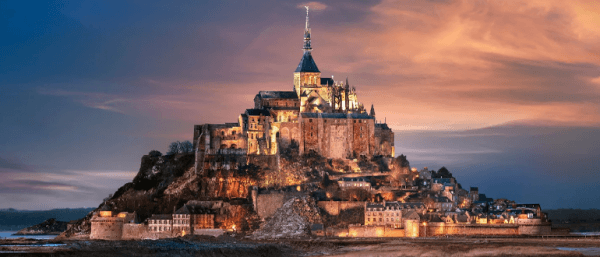 ЗамокМон-Сен-Мишель