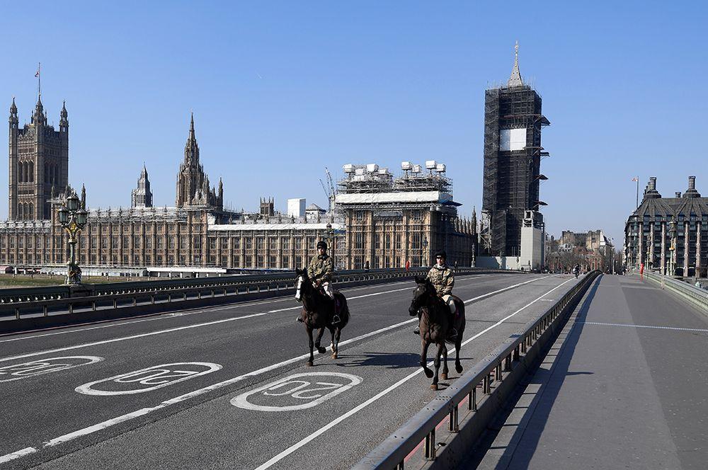 Коронавирус в Лондоне
