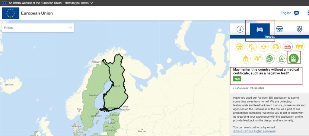Интерактивная карта 3