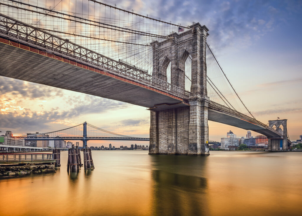 Бруклинский мост, Нью-Йорк, США